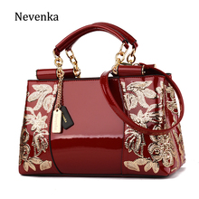 Nevenka Women Luxury Handbags Female Leather Evening Bag Girls Purses&Handbag for Women Ladies Embroideried Shoulder Bags(China)