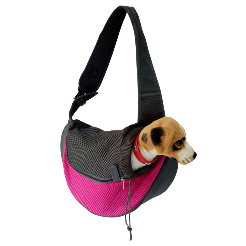 Pet Carrier Cat Puppy Small Animal Dog Carrier Sling Front Mesh Travel Tote Shoulder Bag Backpack Dog Accessories 5