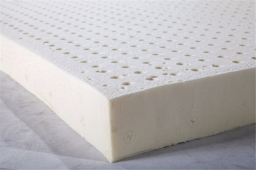 2 3 4 Inches California King Size Seven Zone Mold Flat Ventilated100 Natural Latex Mattress Topper With Inner Cover Medium Soft In Mattresses From Furniture