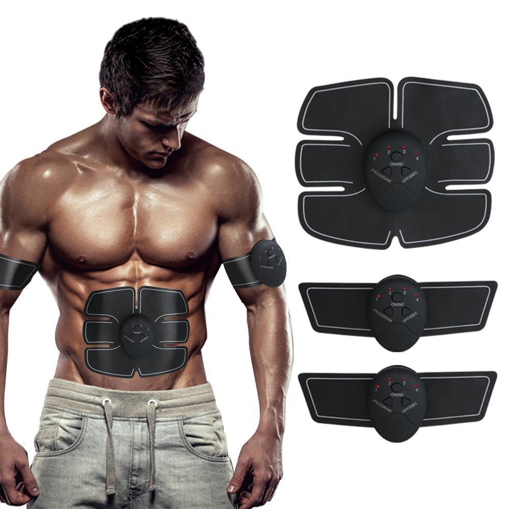 Abdominal Muscle Training Device Wireless Muscle Toning Belt Fitness Body Slimming Massager Home Fitness Training Gear