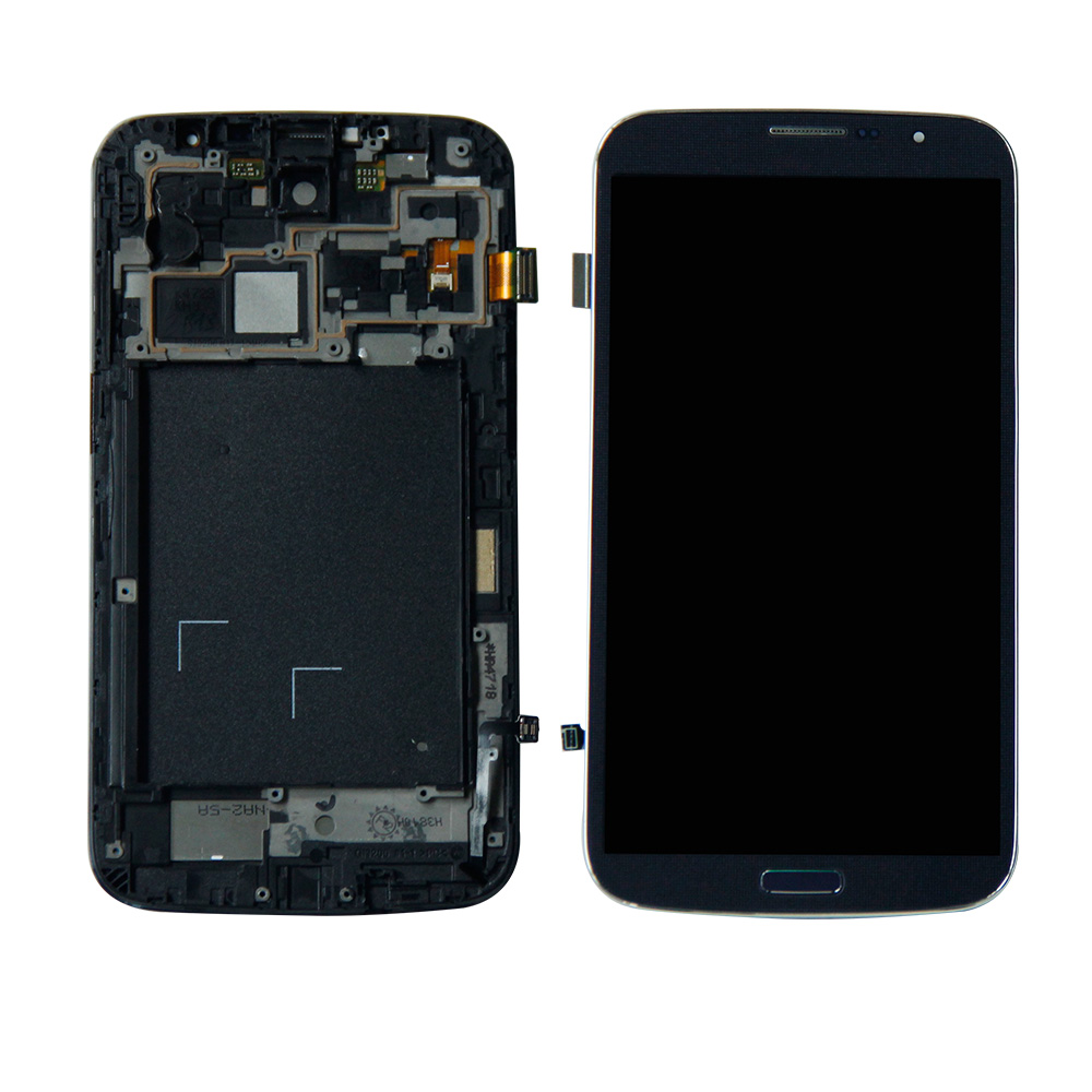 AMOLED For <font><b>Samsung</b></font>-Galaxy Mega 6.3 i527 <font><b>i9200</b></font> i9205 LCD Display Screen Digitizer Touch Panel Glass Sensor Assembly Replacement image