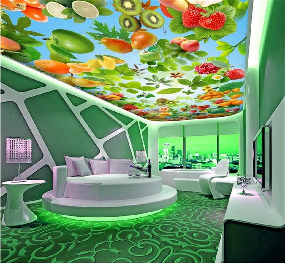 3d room wallpaper custom 3d photo wallpaper non-woven mural fruits sky zenith ceiling 3d photo painting HD wall murals wallpaper 3d photo wallpaper custom room mural non woven sticker retro style bookcase bookshelf painting sofa tv background wall wallpaper