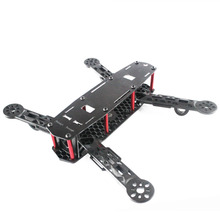 FPV UAV250 cross racing drone 250 Engineering plastic material frame  quadcopter WUAV 250 mini 250 quadcopter accessories portable protective carrying bag waterproof nylon for diy rtf 250 size racing drone f18682