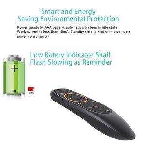 Image 5 - KEBIDU G10S Pro Retroilluminato Mouse Dellaria Telecomando Vocale 2.4G Ricevitore USB Gyro sensori Wireless Smart Remote per Android TV BOX