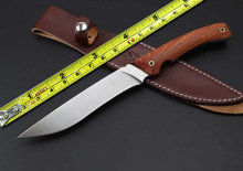 Newest Wild Boar Tactical Fixed Knife 7Cr17Mov Blade Camping Survival Knives EDC Outdoor Tools