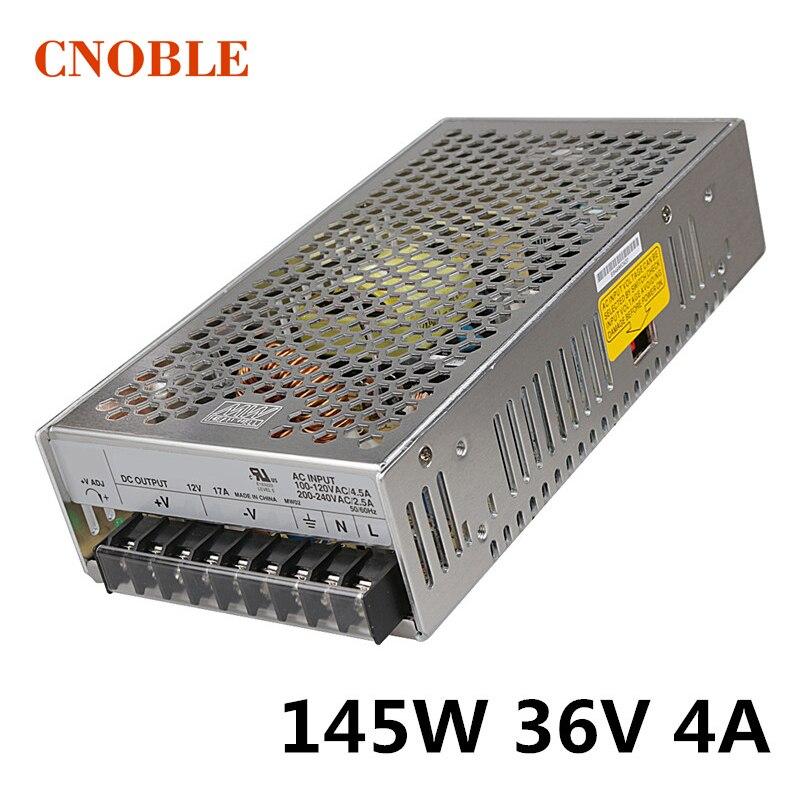 145W 36V 4A Single Output Switching power supply for LED Strip light AC to DC145W 36V 4A Single Output Switching power supply for LED Strip light AC to DC