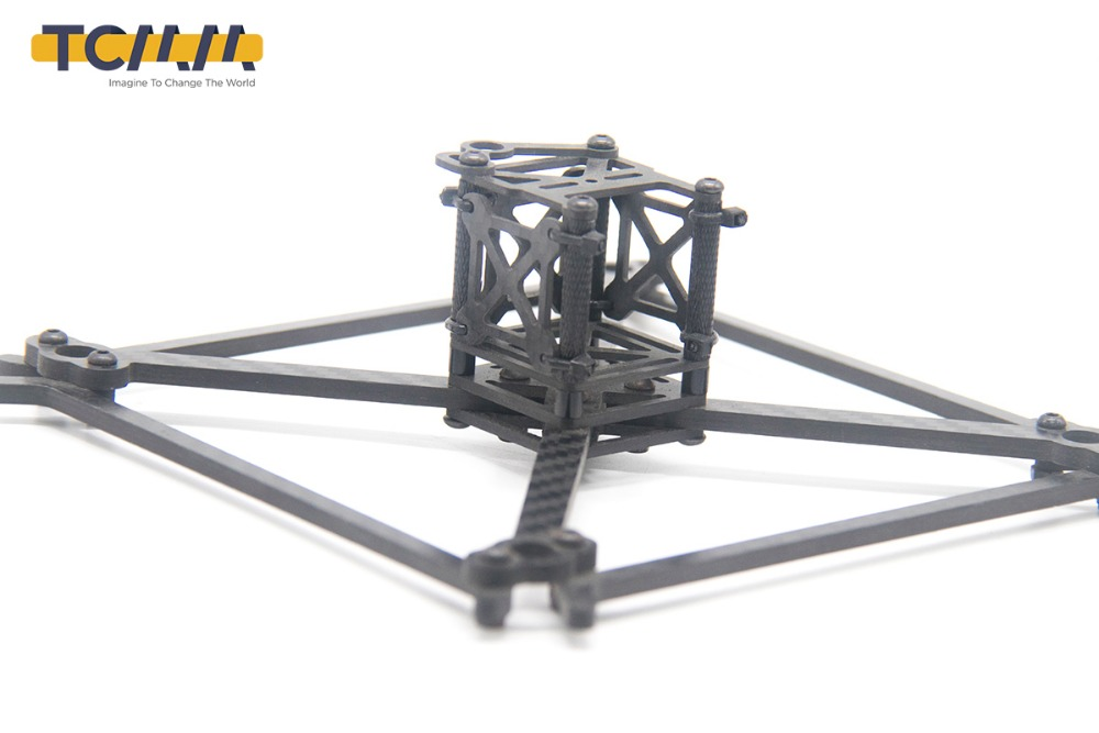 Image 3 - TCMMRC FPV Frame Kit QAV UFX Wheelbase 185mm Thickness 4mm Arm Carbon Fiber for FPV Racing Drone Quadcopter-in Parts & Accessories from Toys & Hobbies