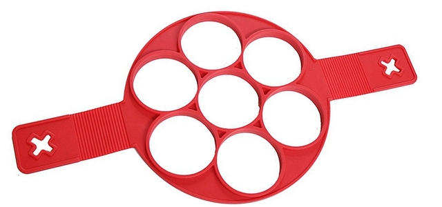 WOWCC Non stick Cooking Tool Egg Ring Maker Perfect Pancakes Cheese Egg Cooker Pan Flip Eggs Mold Kitchen Baking Accessories