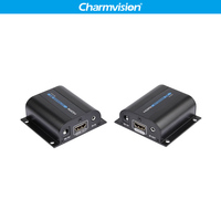 LKV372A 60m HDMI Extender Sender Receiver over signal RJ45 UTP cat6 network cable PC DVD PS3 projector HDMI ethernet converter