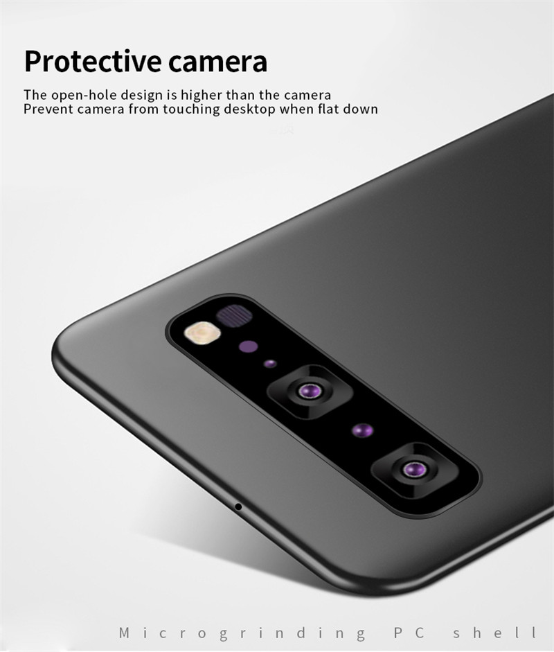 Image 5 - For Samsung Galaxy S10 5G Case Silm Luxury Ultra Thin Smooth Hard Phone Case For Samsung Galaxy S10 5G Cover For Samsung S10 5G-in Fitted Cases from Cellphones & Telecommunications