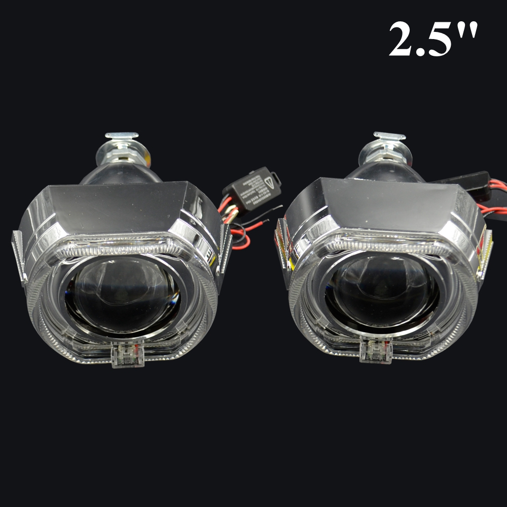 2 5inch Bi Xenon Hid Projector Lens For Bmw Led Day