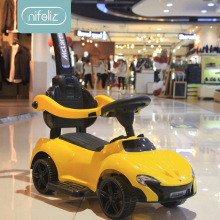 Детский твист автомобиль с музыкой ручной толчок йо автомобиль от 1 до 3 лет мальчик девочка ребенок скутер четырехколесный шаговый автомобиль