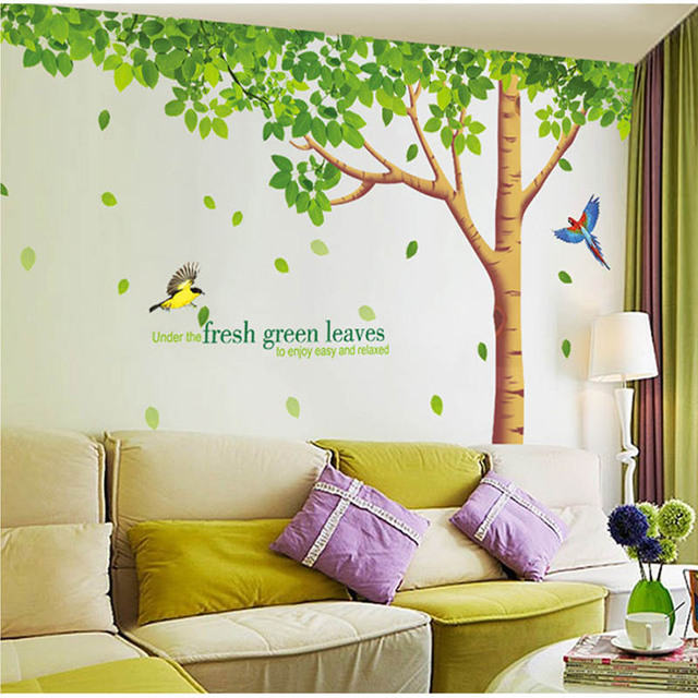 big size 310*204cm living room/tv background diy stickers extra