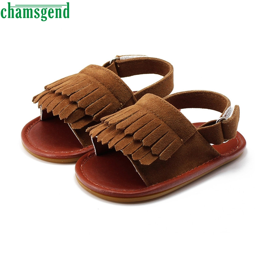 CHAMSGEND Best Seller Fashion baby shoes beloved kids Baby Tassel Toddler Princess First Walkers Girls Kid Shoes S35