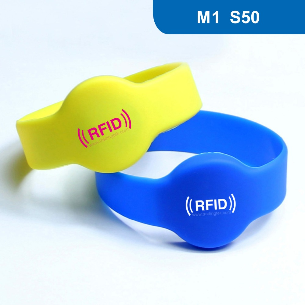 WB02 Silicone RFID Wristband RFID Bracelet Protocol: ISO 14443A  Frequency 13.56MHz, MF1 S50  Chip Free Shipping heena dhawan a heterogenous clustering protocol in wsn href leach protocol