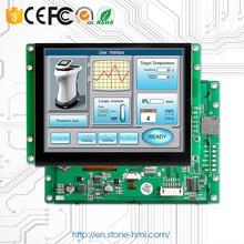 8 встроенный/ открытой рамки программируемый дисплей с сенсорным экраном для управления промышленный HMI