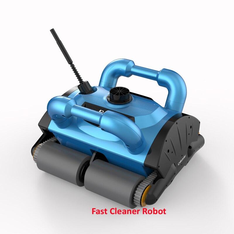 Nouveau Modèle ICleaner-200 Piscine Cleaner Robot, Robot Piscine Aspirateur Avec Mur D'escalade Fonction et Télécommande