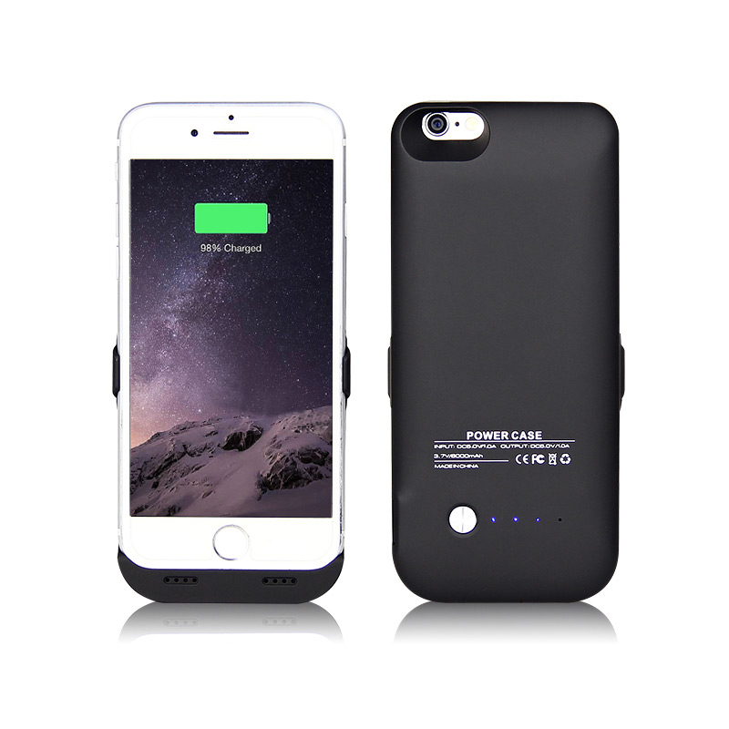 rechargeable iphone 6 case external backup battery cover pack charger back for 15932