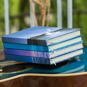 Image 3 - 美しい小さな新鮮なカラーページのノートブックヘラジカイラスト日記帳ハードカバープランナー学校オフィス文具