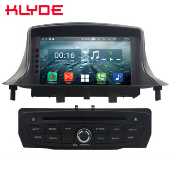 "7"" Octa Core 4G Android 8.1 4GB RAM 64GB ROM Car DVD Multimedia Player Radio Head Unit For Renault Megane III Fluence 2009-2016"