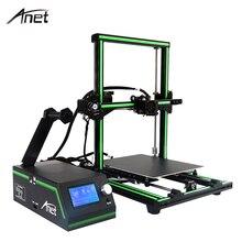 2017 Anet E10 Desktop 3D Printer Aluminum Frame High Precision Reprap Prusa i3 Big Size DIY 3D Printer Set Gift 500g Filament