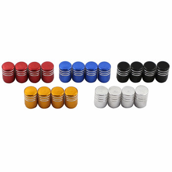 Jameo Auto Car Tyre Tire Rim Valve Stem Cap for Volkswagen VW Golf Polo Sagitar Tiguan Jetta GTI for Volvo S40 S60 V40 V60 XC60 image