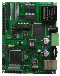 Data acquisition card, 16 way 1000K high-speed analog AD acquisition, IO isolation Ethernet analog digital conversion