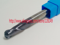 1pc R5*40*D10*150L HRC55 2 Flutes Tungsten solid carbide Coated Ball Nose End Mills CNC milling cutters