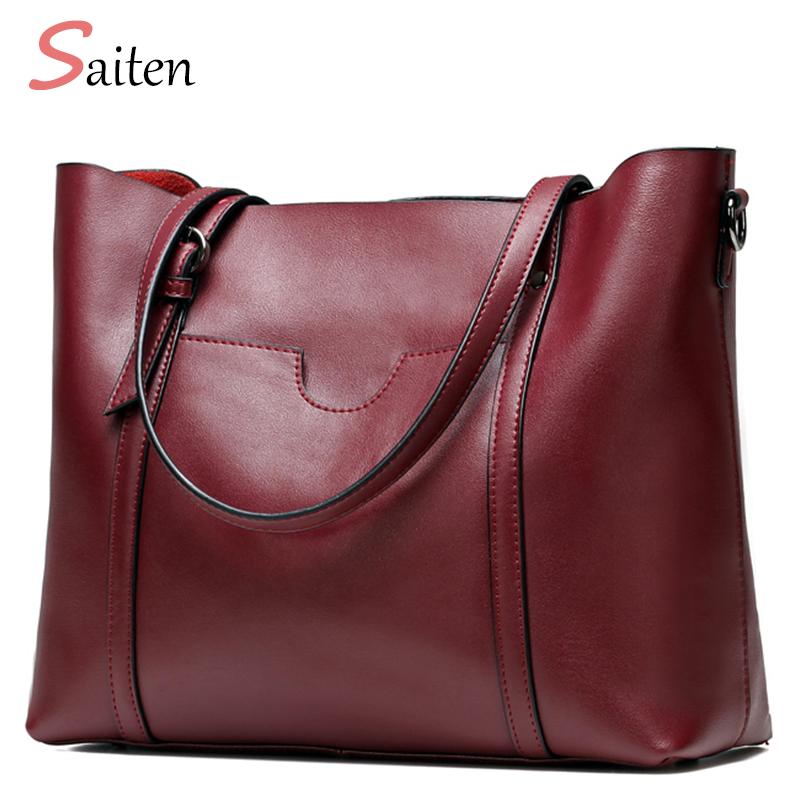 2017 Genuine Leather Bag Designer Handbags High Quality Ladies Shoulder Bag Women Casual Tote Bags Famous Brands Bolsos Mujer women peekaboo bags flowers high quality split leather messenger bag shoulder mini handbags tote famous brands designer bolsa
