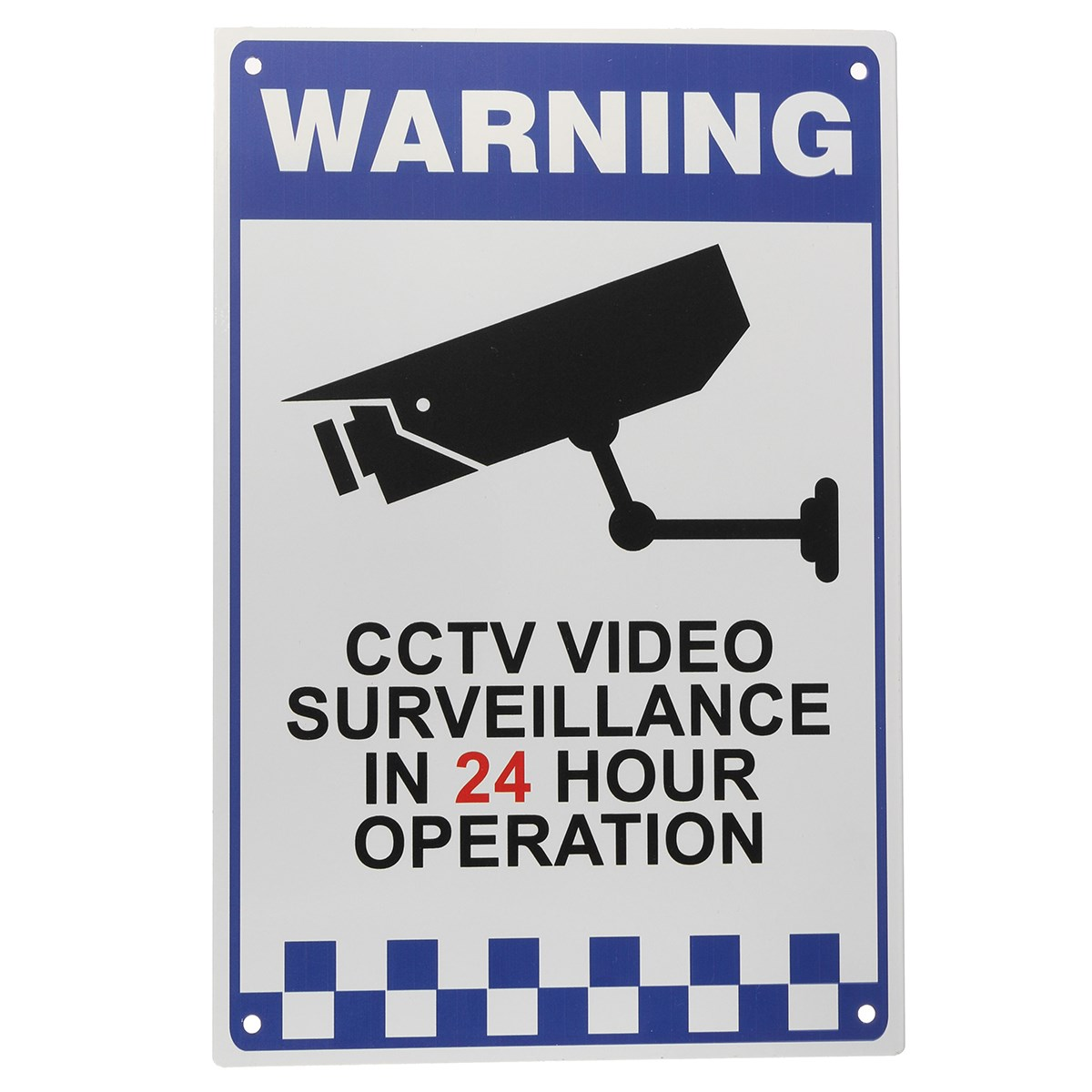 Safurance CCTV Warning Security Video Surveillance Camera Safety Security Sign Reflactive Metal new safurance 10pcs lot waterproof sunscreen pvc home cctv video surveillance security camera alarm sticker warning decal signs