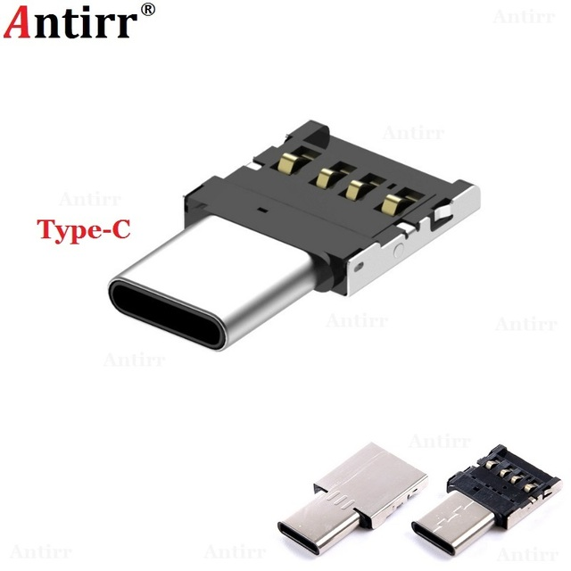 USB 3.1 Type-C USB-C Connector Type C Male to USB Female OTG Adapter Converter For Android Tablet Phone Flash Drive U Disk
