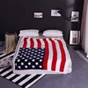 American  BRITISH Throw Blanket 1