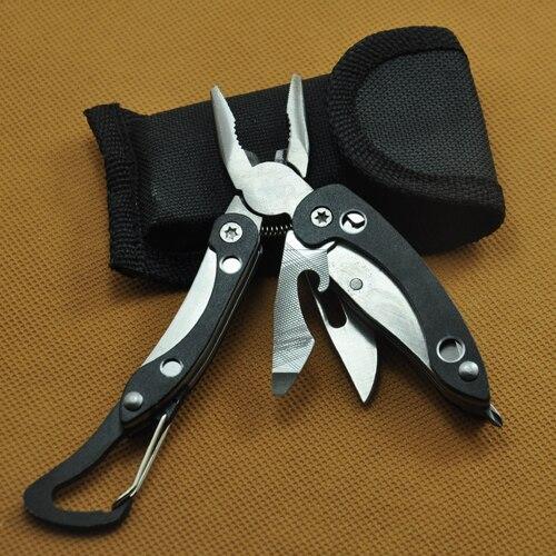New Foldaway Keychain Pocket Multi Function Tools Set Mini Pliers Multi Tool Pliers Combination Folding Pliers Camping Tools
