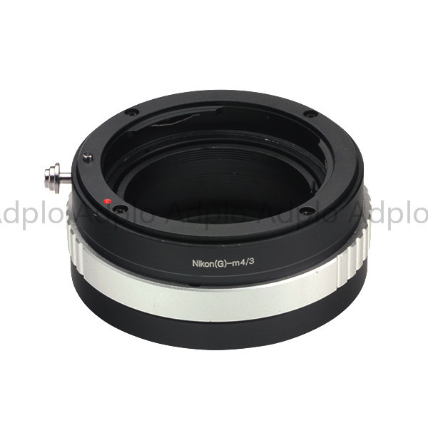 Lens Adapter Work for Nikon G Lens to Micro 4/3 Panasonic LUMIX GM1 GX7 GF6 GH3 G5 GF5 GX1 GF3 G3 GH2 G2 GF2 G1 GF1 G10