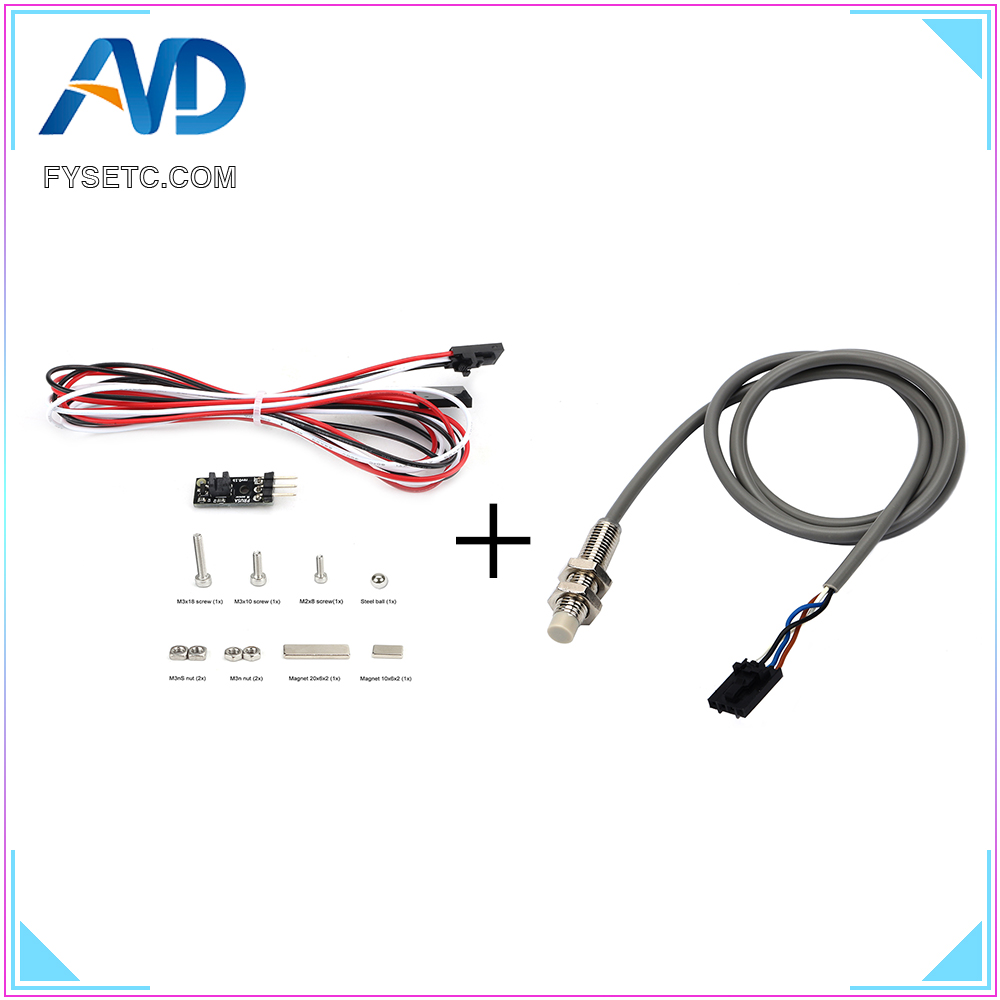 Mk2.5/Mk3 To Mk2.5s/Mk3s 3D IR Filament Sensor Detect Stuck Filament Sensor Kit And PINDA V2 Sensor For Prusa I3 MK2.5S/MK3S