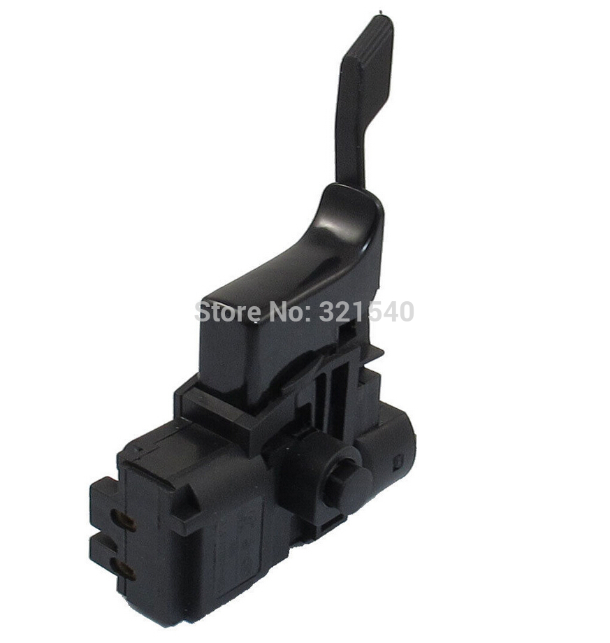 Lock Button Speed Control Trigger Switch 250VAC 4A for Bosch 24 Electric Drill
