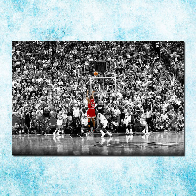 3e4accb3206 Michael Jordan Shoes MJ 23 Chicago Bulls MVP Basketball Silk Canvas Poster  13x20 24x36inch Picture For Room Decor (more)-6