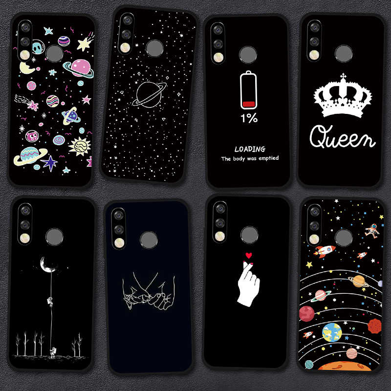 Silicone Case For Huawei P30 Pro P20 P10 Lite Y6 Y7 Pro Y9 2019 Painted Case Soft Tpu Back Cover For Huawei Y5 Y6 Y7 Prime 2018