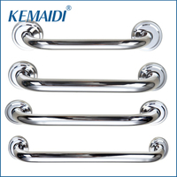 Luxury 6307 New Wall Mounted Bathroom Chrome Safety Grab Rail Grab Bar Shower Room Hand Rail