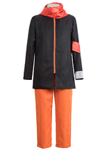 Brdwn Naruto Unisex Anime 7th 8th 9th Hokage Cosplay Costumes Suits(jacket+pants)