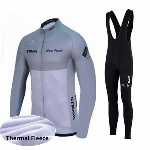 Winter Thermal Cycling Clothing 2018 Men Fleece Jersey Bike Bicycle suits  Cycling Kit Green Yellow Red Blue Ropa Ciclismo-in Cycling Sets from Sports  ... 447d883c4