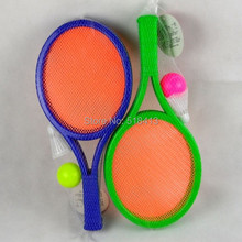 children Puzzle tennis racket badminton racket discreteness Large bat toys