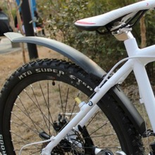 Bicycle Mud Guard Mountain Bike Mud Guard Cycle Road Tyre Tire Front Rear Cycling Fender Wings Mudguard Fender Set #264180