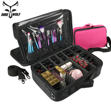 New Fashion Cosmetic Bag Travel Makeup Organizer Cosmetics Pouch Bags High Quality Make Up Professional