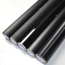 2 шт. 50*150 см кузова Flim матовый черный внешний дизайн наклейки матовый/черный глянцевый винил Обёрточная бумага фильм очень классные