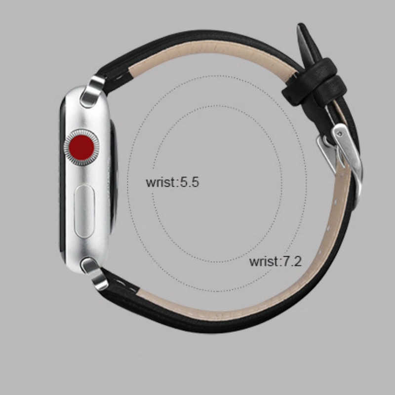 2019 New Leather Apple Watch Band 38mm 40mm 42mm 44mm Black Brown Watch Bands Strap Watchband for Series 4/3/2/12019 New Leather Apple Watch Band 38mm 40mm 42mm 44mm Black Brown Watch Bands Strap Watchband for Series 4/3/2/1