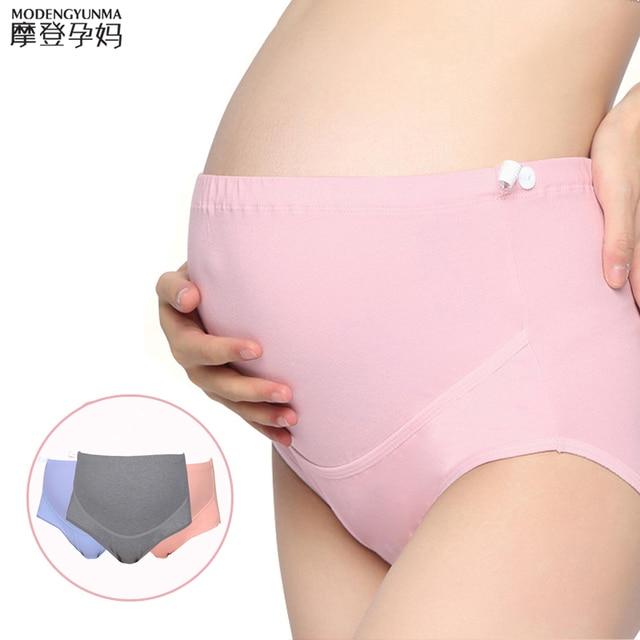 b2071dc55 Marcas Mulheres calcinha De Cintura Alta Plus Size Algodão cuecas Calcinhas  Cuecas Maternidade para A Gravidez