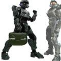 Руля Игры Halo 4 Armor Wars Костюм Главного Мастера Косплей с Шлем Армия Зеленый Полный Набор Игровое Оборудование