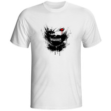 Tokyo Ghoul T-shirt Top Fashion Brand Japanese Anime T shirt Printed Casual Style Tshirt Men Women Top Cool Design