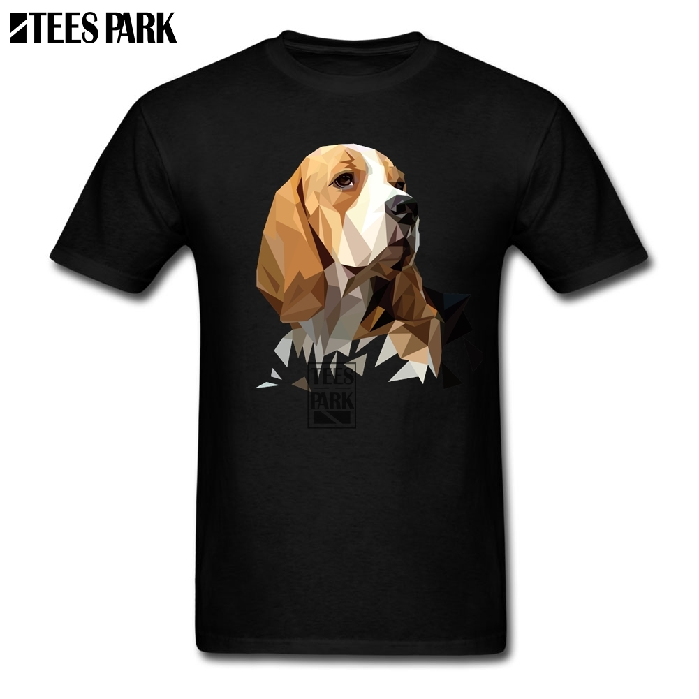 Plus Size Beagle Dog Head Fashion T Shirts Youth Organnic Cotton Short Sleeve T-Shirt Popular Youth Tee Shirt Design creative vip pattern pet dog cotton t shirt black yellow size l